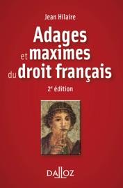 Adages Et Maximes Du Droit Fran Ais
