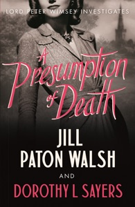A Presumption of Death Door Jill Paton Walsh & Dorothy L. Sayers Boekomslag