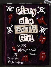 Diary of a Goth Girl book