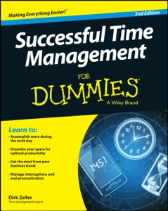 Successful Time Management for Dummies Book Cover