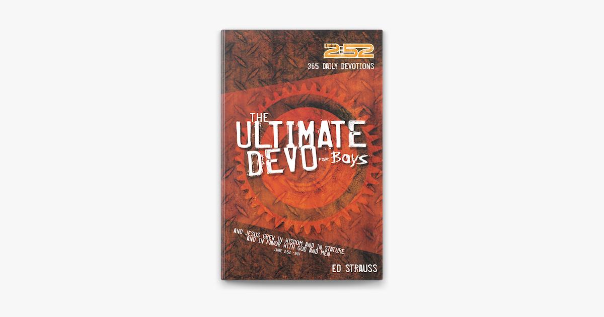 The Ultimate Devo for Boys - Ed Strauss