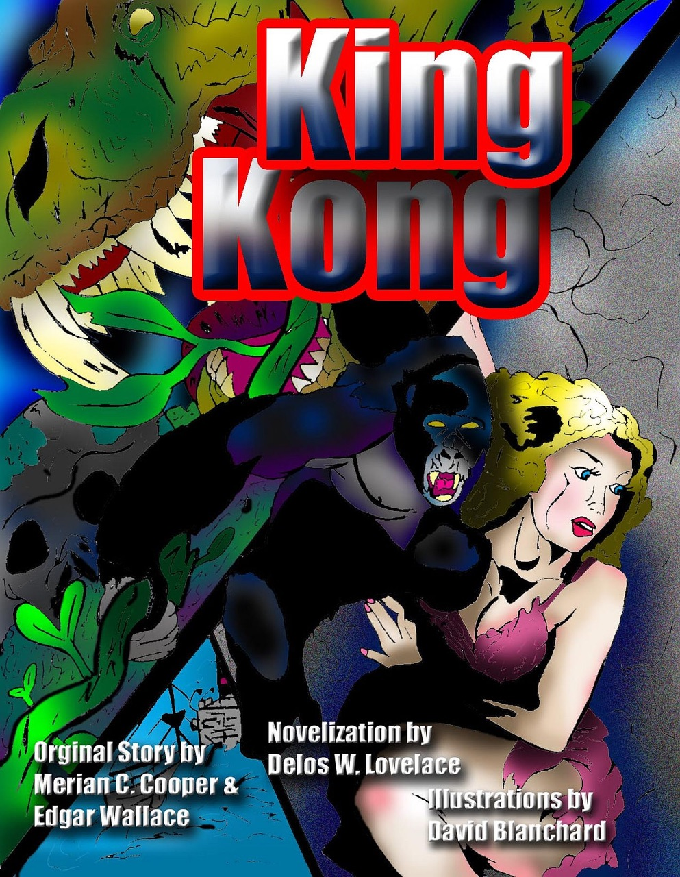 an examination of the book king kong by edgar wallace King kong [edgar and cooper, merian c wallace] one who was king and the god of the world he knew i had a comic book version of king kong.