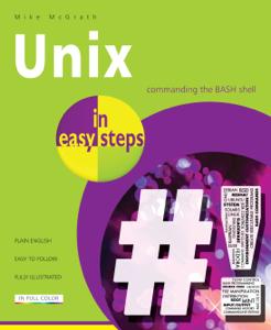 Unix in easy steps Boekomslag