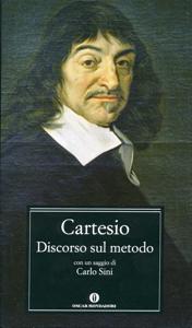 Discorso sul metodo (Mondadori) Copertina del libro