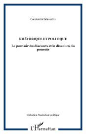 Rhétorique et politique