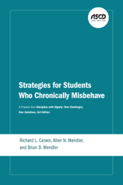 Strategies for Students Who Chronically Misbehave book