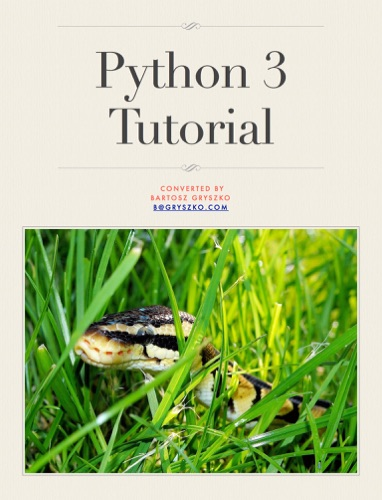 Python 3 Tutorial E-Book Download