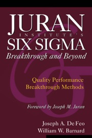 JURAN INSTITUTES SIX SIGMA BREAKTHROUGH AND BEYOND