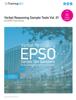 Training4EU Publishing Team - 01 Verbal Reasoning Sample Tests - EU EPSO Tests Series artwork