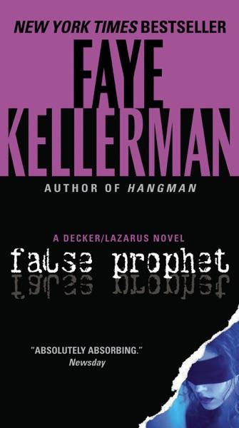 False Prophet - Faye Kellerman book cover