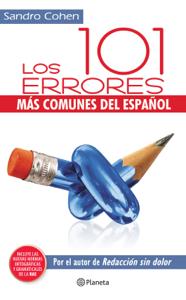 Los 101 errores más comunes del español Book Cover