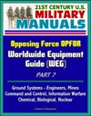 21st Century US Military Manuals Opposing Force OPFOR Worldwide Equipment Guide WEG Part 7 - Ground Systems - Engineers Mines Command And Control Information Warfare Chemical Biological Nuclear