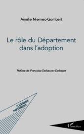 LE RôLE DU DéPARTEMENT DANS L'ADOPTION