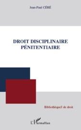 Droit Disciplinaire P Nitentiaire