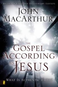 The Gospel According to Jesus Book Cover