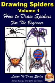 Drawing Spiders Volume 1: How to Draw Spiders For the Beginner