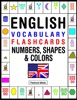 English Vocabulary Flashcards: Numbers, Shapes & Colors