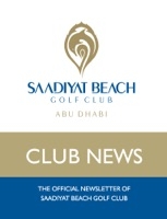 The Official Newsletter of Saadiyat Beach Golf Club
