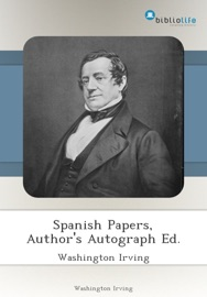 Spanish Papers Author S Autograph Ed