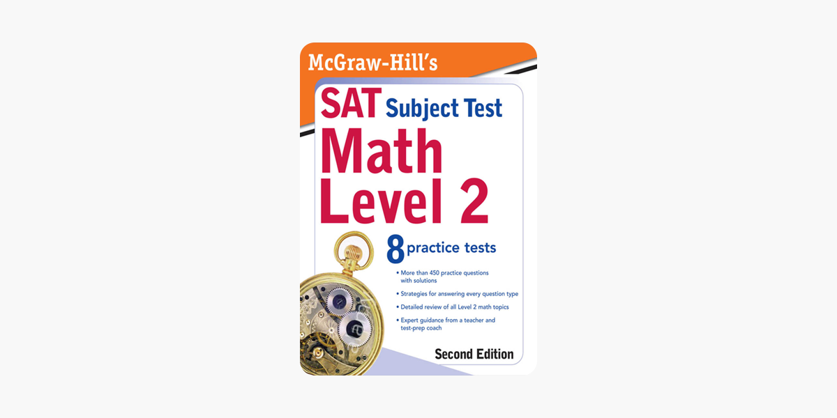 ‎McGraw-Hill's SAT Subject Test: Math Level 2, Second Edition