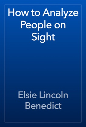 How to Analyze People on Sight book cover
