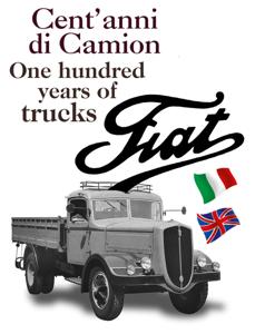 Cent'anni di camion Fiat Copertina del libro