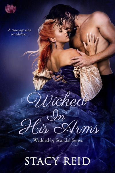 Wicked in His Arms - Stacy Reid book cover
