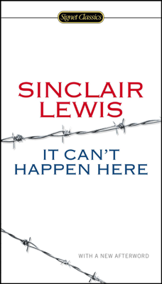 It Can't Happen Here - Sinclair Lewis, Michael Meyer & Gary Scharnhorst book