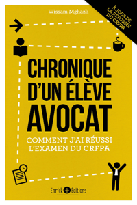 Chronique d'un élève avocat - 2e édition La couverture du livre martien