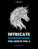 Art Therapy Coloring - Intricate Coloring Book For Adults Vol 6  artwork