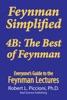 Feynman Simplified - 4B: The Best Of Feynman