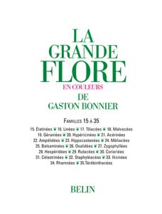 La grande Flore (Volume 5) - Famille 15 à 35 La couverture du livre martien
