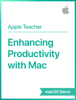 Apple Education - Enhancing Productivity with Mac macOS Sierra artwork