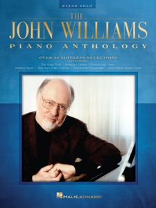 The John Williams Piano Anthology Book Cover
