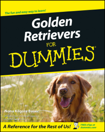 Golden Retrievers For Dummies book