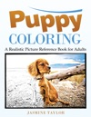 Puppy Coloring A Realistic Picture Reference Book For Adults