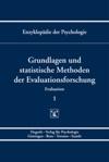 Enzyklopdie Der Psychologie  Themenbereich B Methodologie Und Methoden  Evaluation  Grundlagen Und Statistische Methoden Der Evaluationsforschung