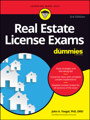 Real Estate License Exams For Dummies - John A. Yoegel book