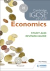 Cambridge IGCSE And O Level Economics Study And Revision Guide
