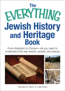 The Everything Jewish History and Heritage Book La couverture du livre martien
