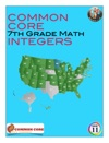 Common Core 7th Grade Math - Integers
