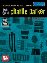 Essential Jazz Lines in the Style of Charlie Parker, Violin Edition