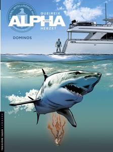 Alpha - tome 14 - Dominos La couverture du livre martien