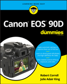 Canon EOS 90D For Dummies Book Cover