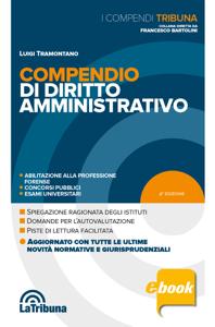 Compendio di diritto amministrativo Copertina del libro
