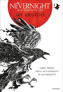 Nevernight. Mai dimenticare Libro Cover