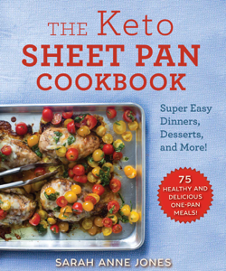 The Keto Sheet Pan Cookbook Book Cover