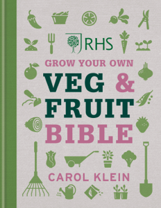 RHS Grow Your Own Veg & Fruit Bible Libro Cover