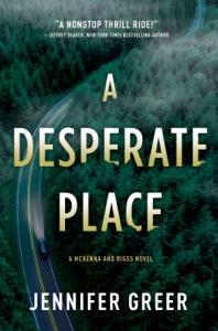 A Desperate Place Book Cover