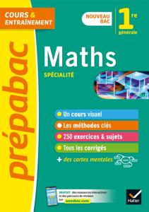 Maths 1re (spécialité) - Prépabac Cours & entraînement La couverture du livre martien